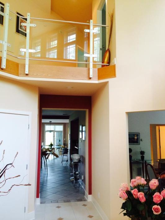 Balcony - Kitchen - Foyer